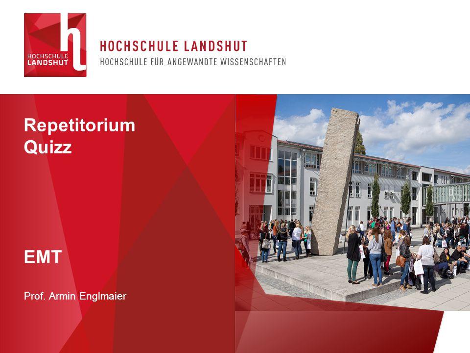 21.11.2014Hochschule Landshut21 Kapitel 3 / MOSFET Frage 10 1.