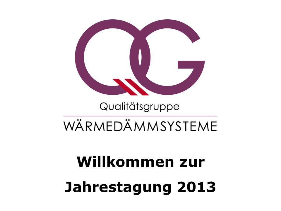 Willkommen zur Jahrestagung 2013