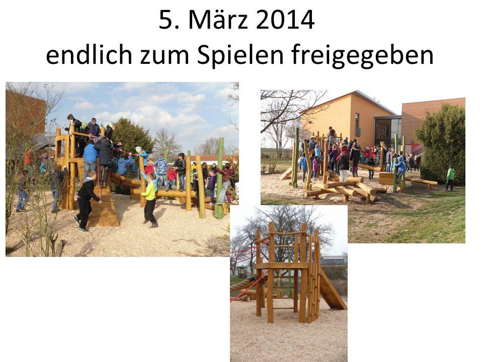 Wir danken allen Helfern und Sponsoren Projektkoordination: Förderverein Grundschule Dornheim Beteiligte Firmen: SIK Holzgestaltungs GmbH (Herstellerfirma + Montage) GLK Rhein-Main-GmbH (Aushub- und Erdarbeiten) Öcocolor GmbH & Co.