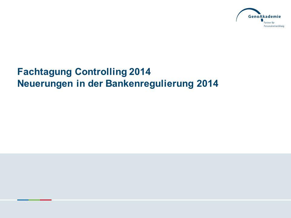 Hat Meldewesen nun doch etwas mit Controlling zu tun? 92Fachtagung Controlling | Frühjahr 2014