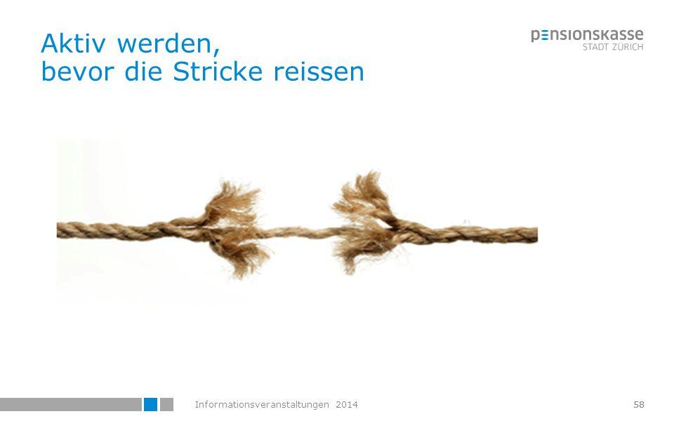 Informationsveranstaltungen 2014 Webportal Patrick Plesner Abteilungsleiter Versicherung Fachverantwortung Alters- u.
