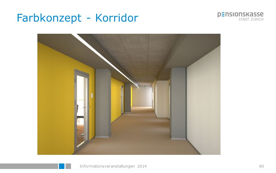 Informationsveranstaltungen 201481 Farbkonzept - Büros