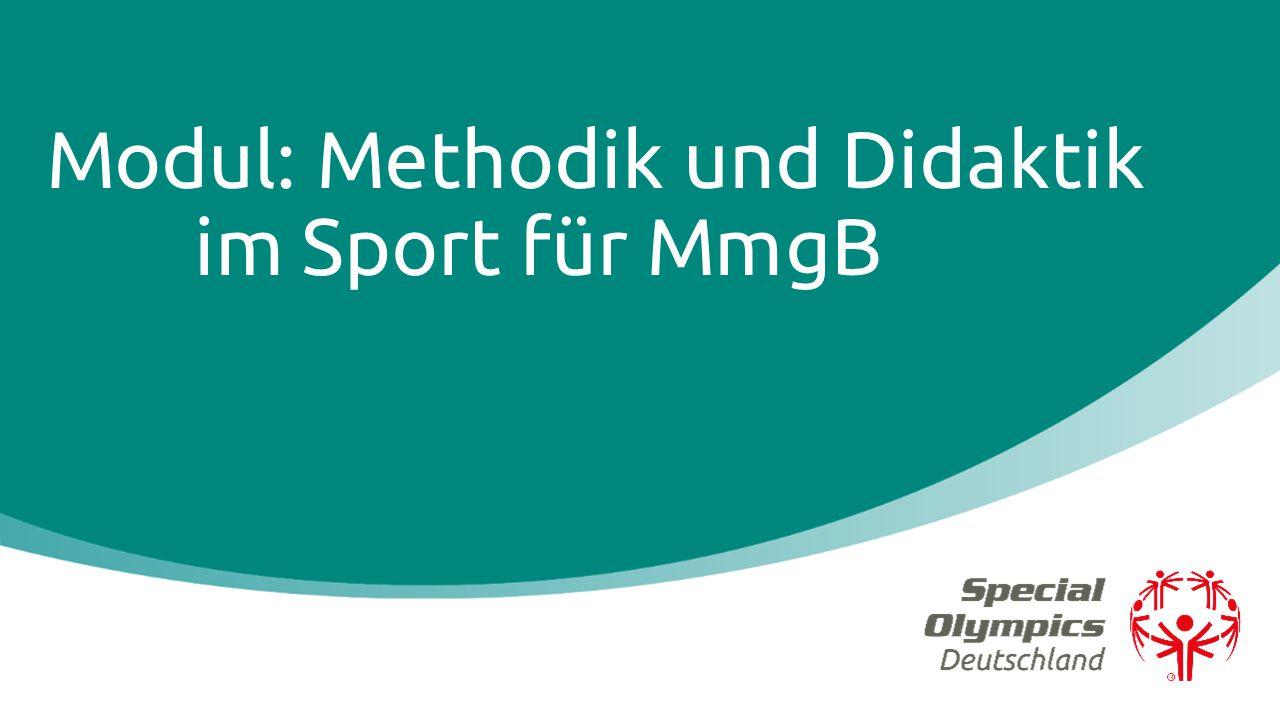 Modul: Methodik und Didaktik im Sport für MmgB