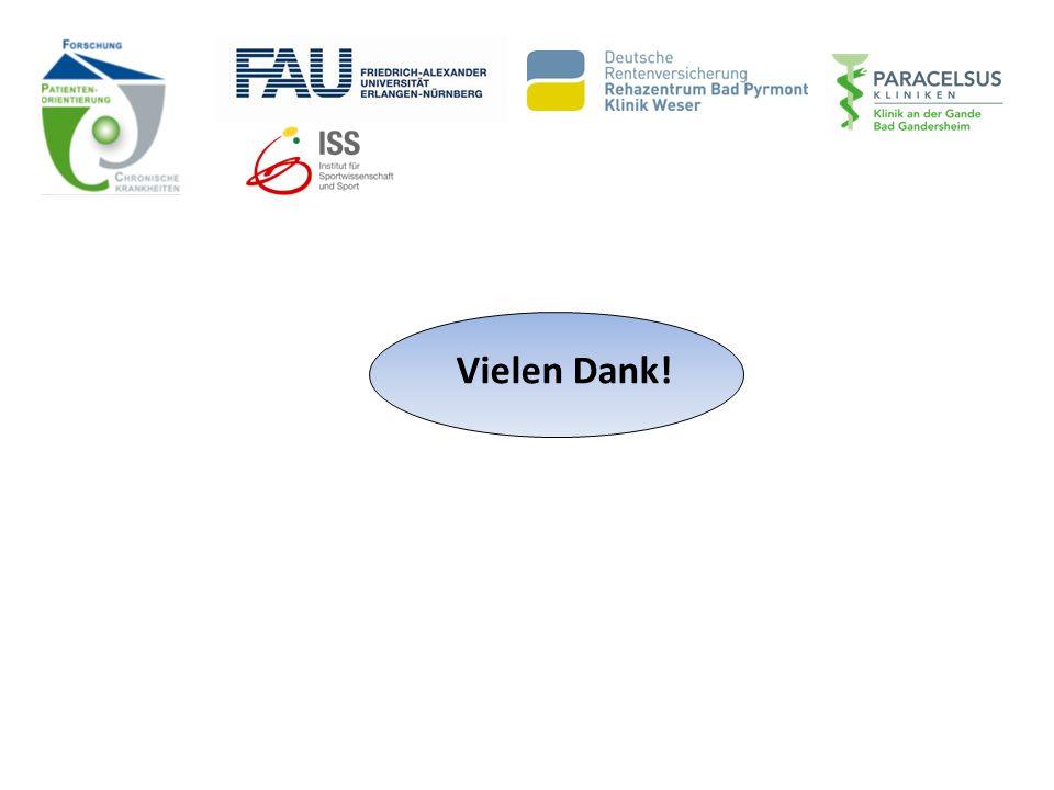 """Vielen Dank! *gefördert im Förderschwerpunkt """"Chronische Krankheiten und Patientenorientierung"""" http://www.forschung- patientenorientierung.de/index.p"""