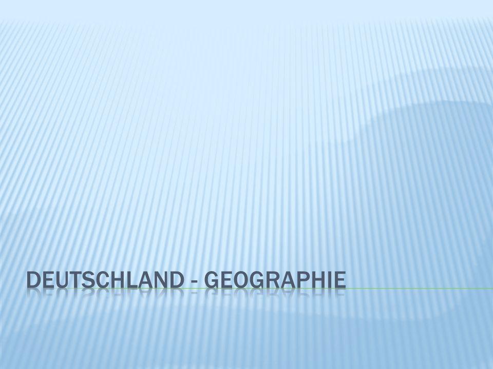Obr 1  Deutschland nimmt eine Fläche etwa von 357 000 Quadratkilometern ein.