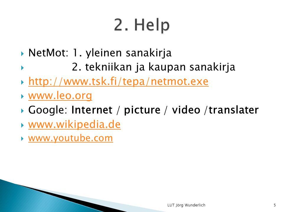  NetMot: 1. yleinen sanakirja  2.