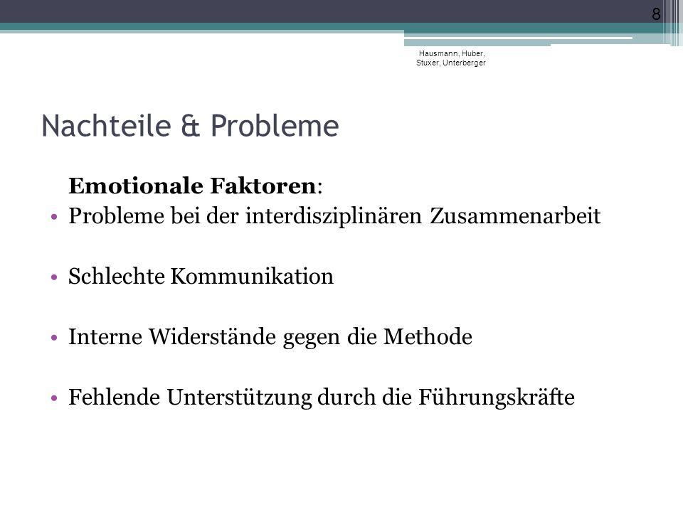 Matrix der Matrizen Hausmann, Huber, Stuxer, Unterberger 19