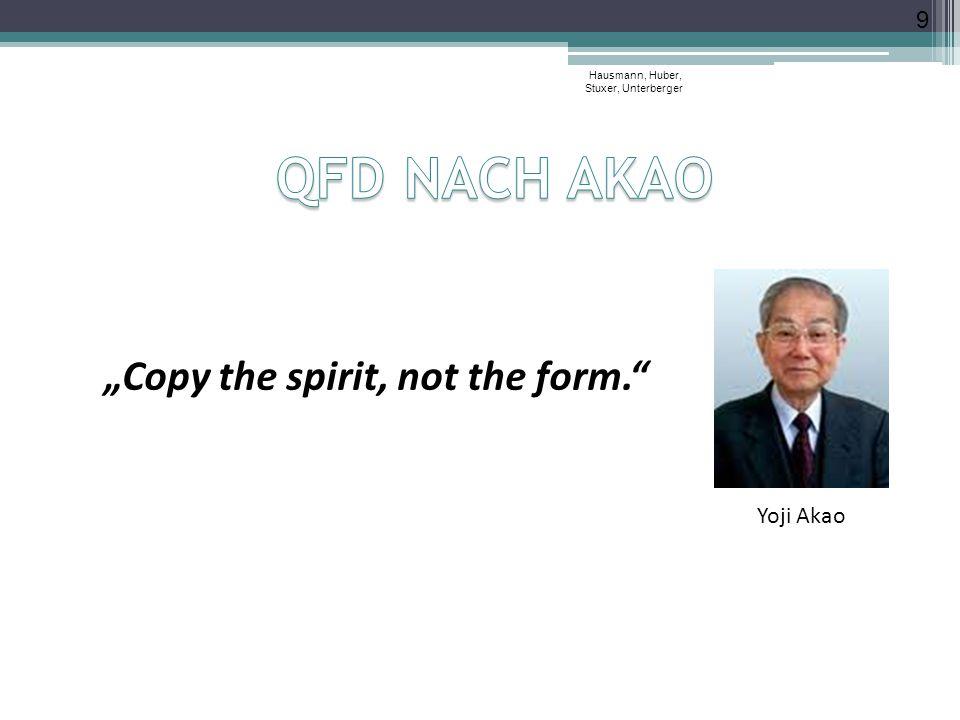 "9 Yoji Akao ""Copy the spirit, not the form."