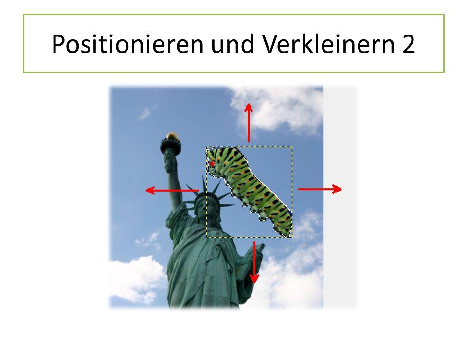 Positionieren und Verkleinern 2