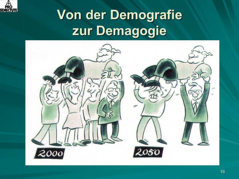 18 Von der Demografie zur Demagogie