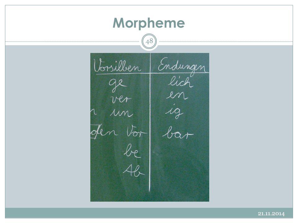 Morpheme 21.11.2014 48