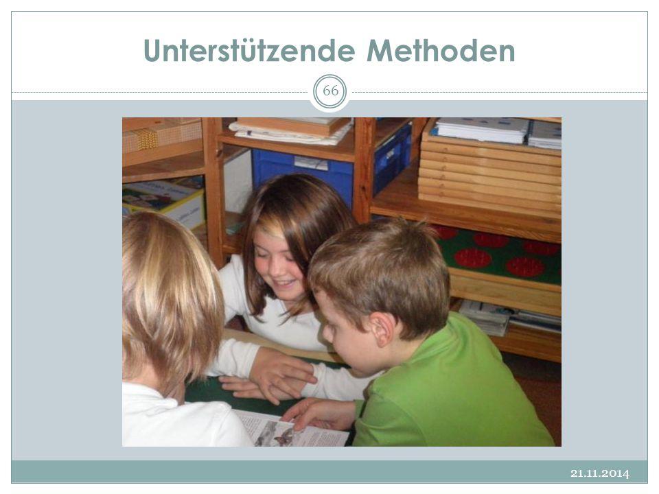 Unterstützende Methoden 21.11.2014 66