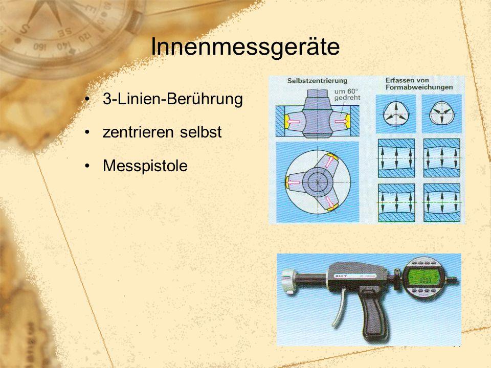 41 Innenmessgeräte 3-Linien-Berührung zentrieren selbst Messpistole