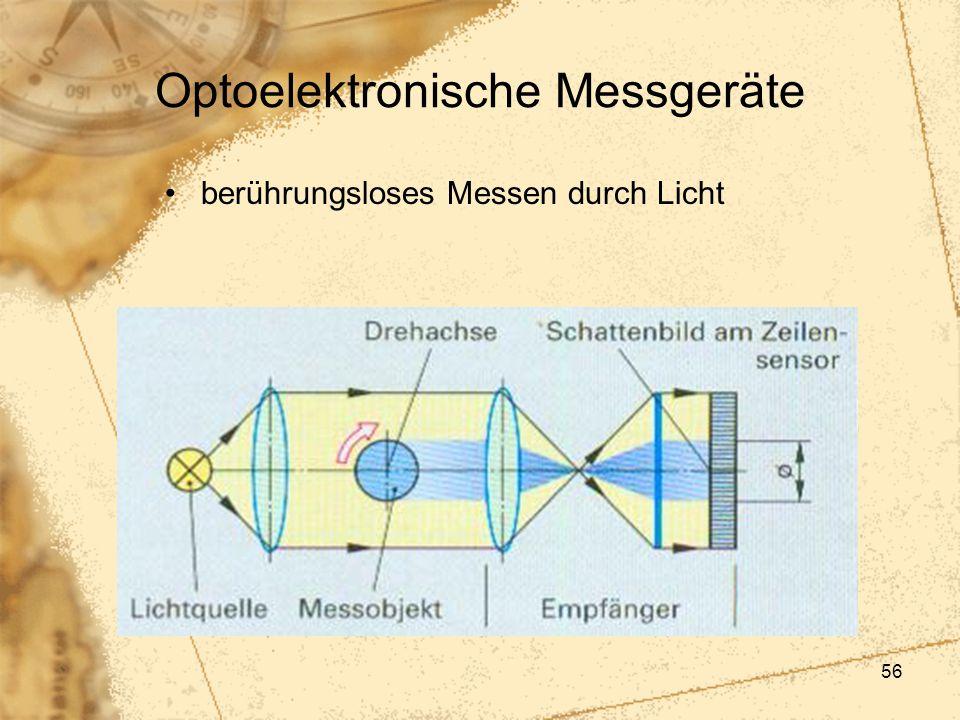 56 Optoelektronische Messgeräte berührungsloses Messen durch Licht