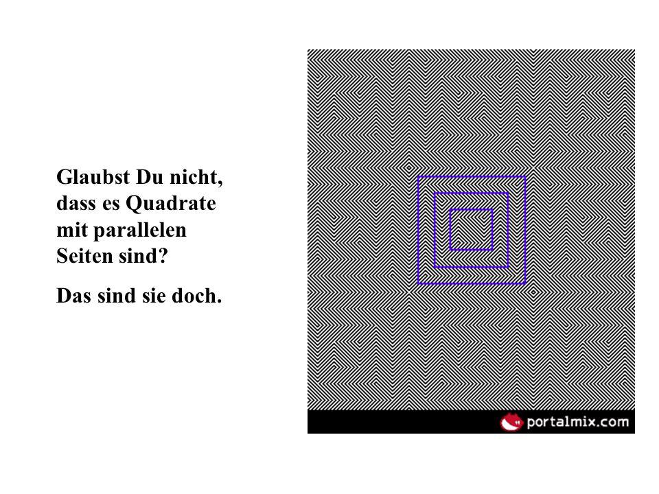 Glaubst Du nicht, dass es Quadrate mit parallelen Seiten sind? Das sind sie doch.