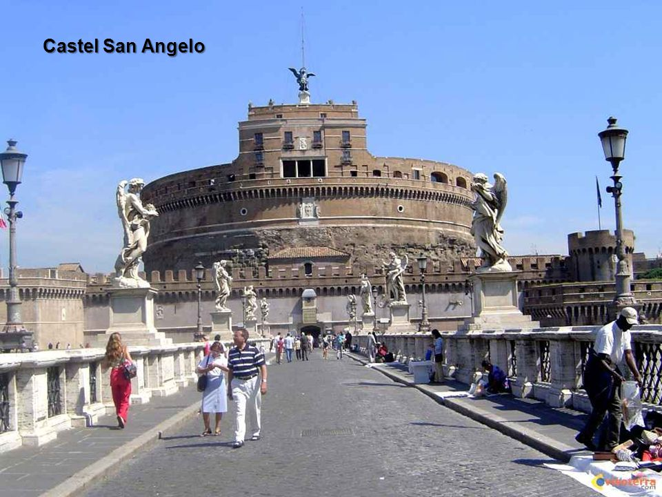 Rom liegt an der Mündung des Tiber und Aniene.