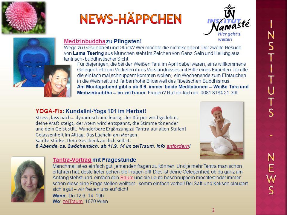 2 YOGA-Fix: Kundalini-Yoga 101 im Herbst.