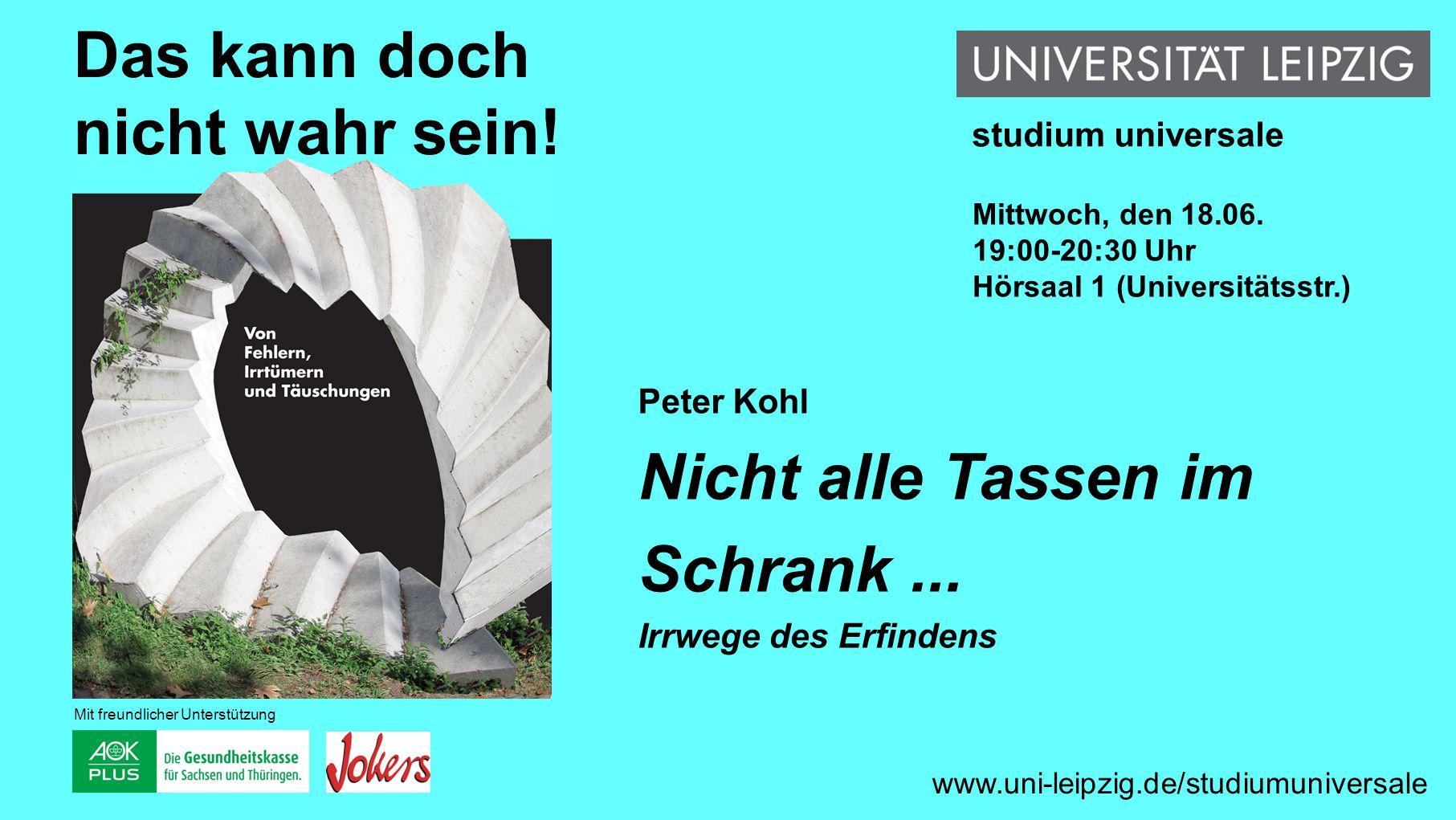 Volker Sommer Lob der Lüge Zur Evolution der Intelligenz www.uni-leipzig.de/studiumuniversale Das kann doch nicht wahr sein.