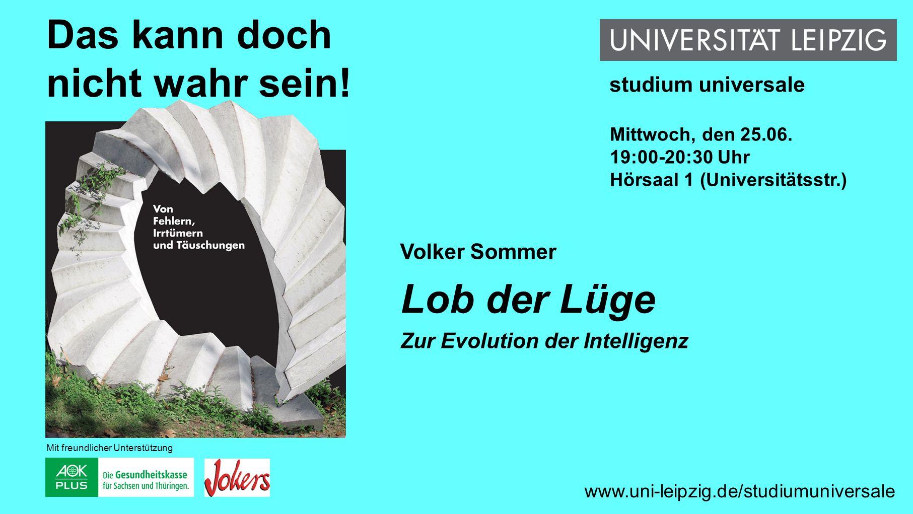 Sabine Tanz Fiktion, Verfälschung und Fälschung im Mittelalter www.uni-leipzig.de/studiumuniversale Das kann doch nicht wahr sein.
