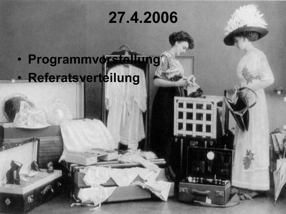 29.6.2006 Beginn des Massenkonsums: Massentourismus im 20.