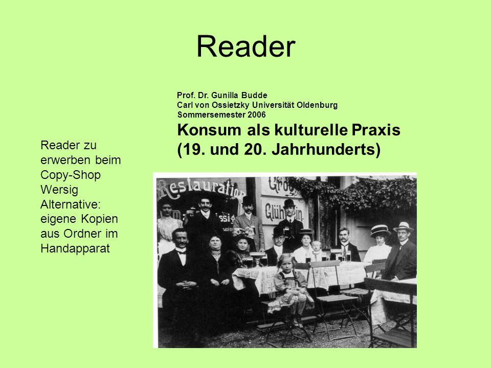 Reader Prof.Dr.
