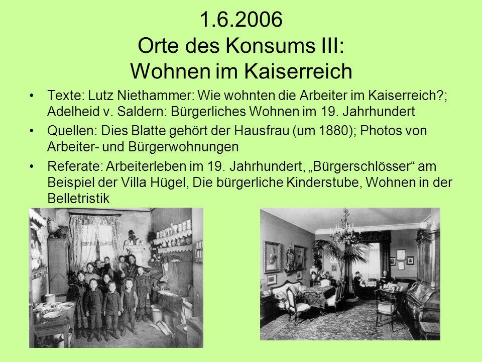 8.6.2006 Demonstrativer Konsum: Mode Texte: Anne Hollander: Die Genese des Anzugs Referate: Frauenmode im 19.