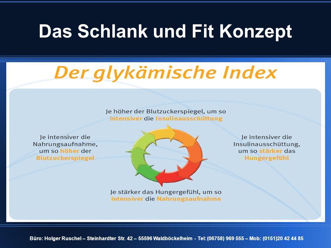 Das Schlank und Fit Konzept Büro: Holger Ruschel – Steinhardter Str. 42 – 55596 Waldböckelheim - Tel: (06758) 969 555 – Mob: (0151)20 42 44 85