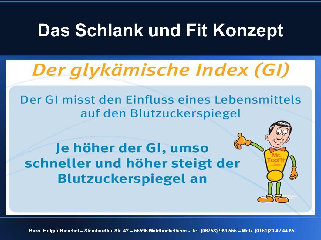 Das Schlank und Fit Konzept Büro: Holger Ruschel – Steinhardter Str.