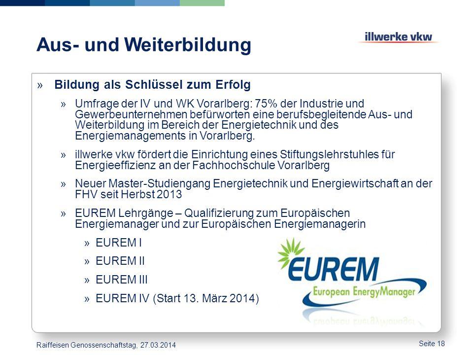 Aus- und Weiterbildung »Bildung als Schlüssel zum Erfolg »Umfrage der IV und WK Vorarlberg: 75% der Industrie und Gewerbeunternehmen befürworten eine