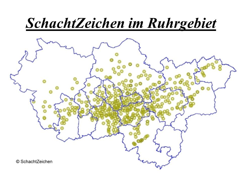 Wir setzen ein Schachtzeichen in Eppendorf: Wo:am Wetterschacht 3 der Zeche Engelsburg Vogelstr.
