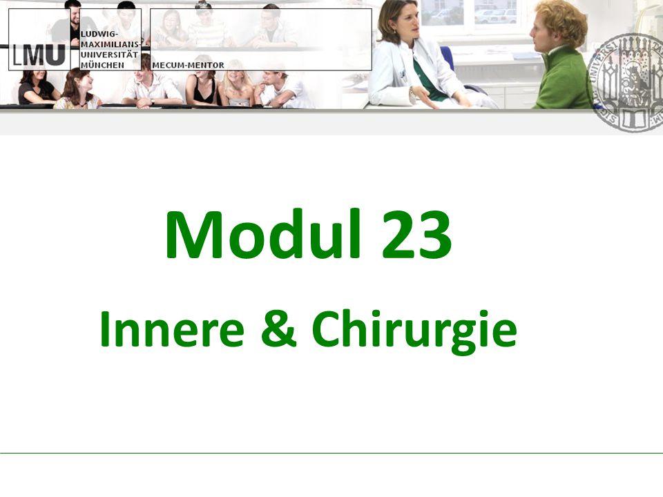 Modul 23 Innere & Chirurgie