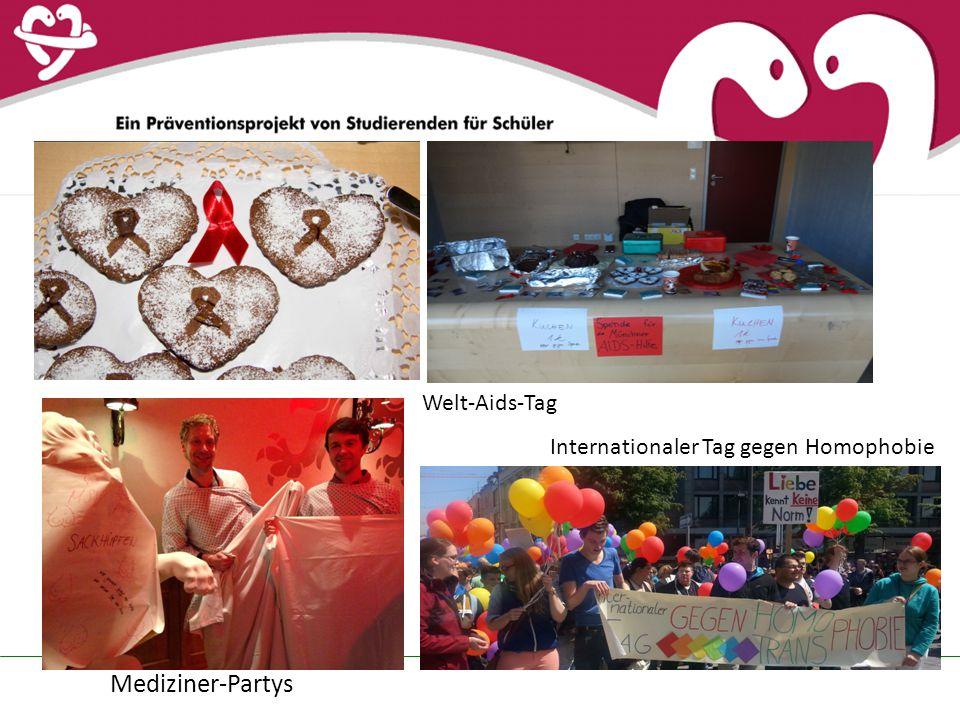 Welt-Aids-Tag Internationaler Tag gegen Homophobie Mediziner-Partys