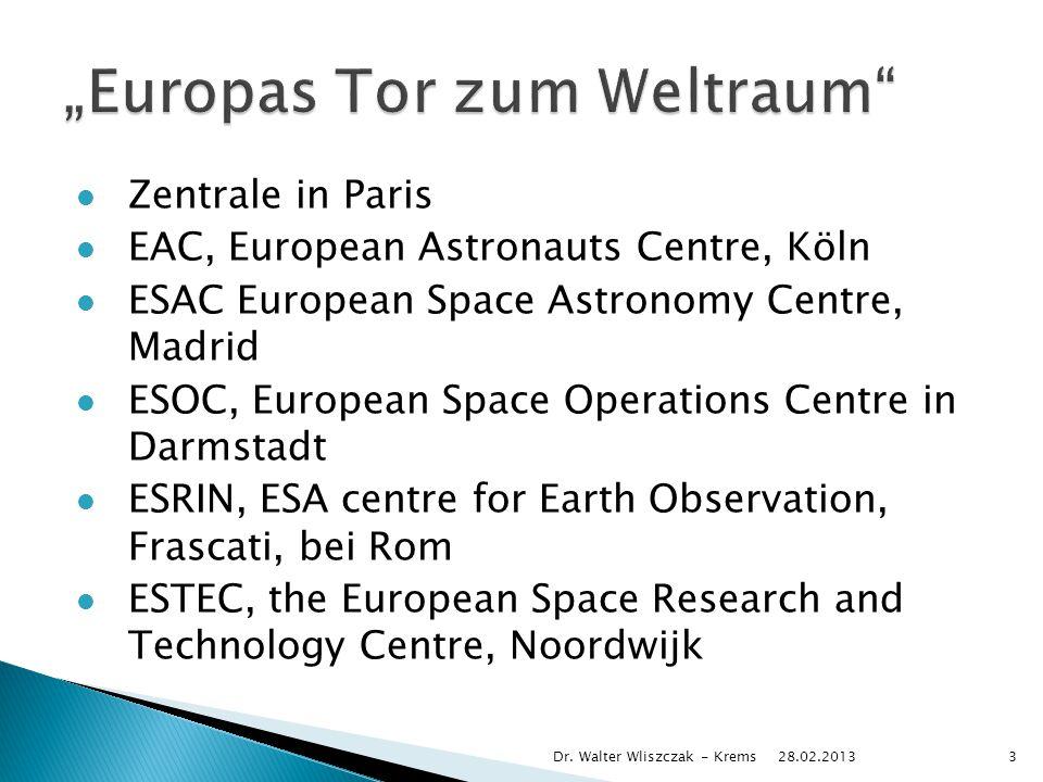 28.02.2013 Dr. Walter Wliszczak - Krems24
