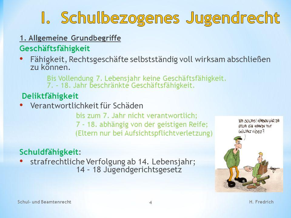 1.Allgemeine Grundbegriffe Schul- und Beamtenrecht 5 H.