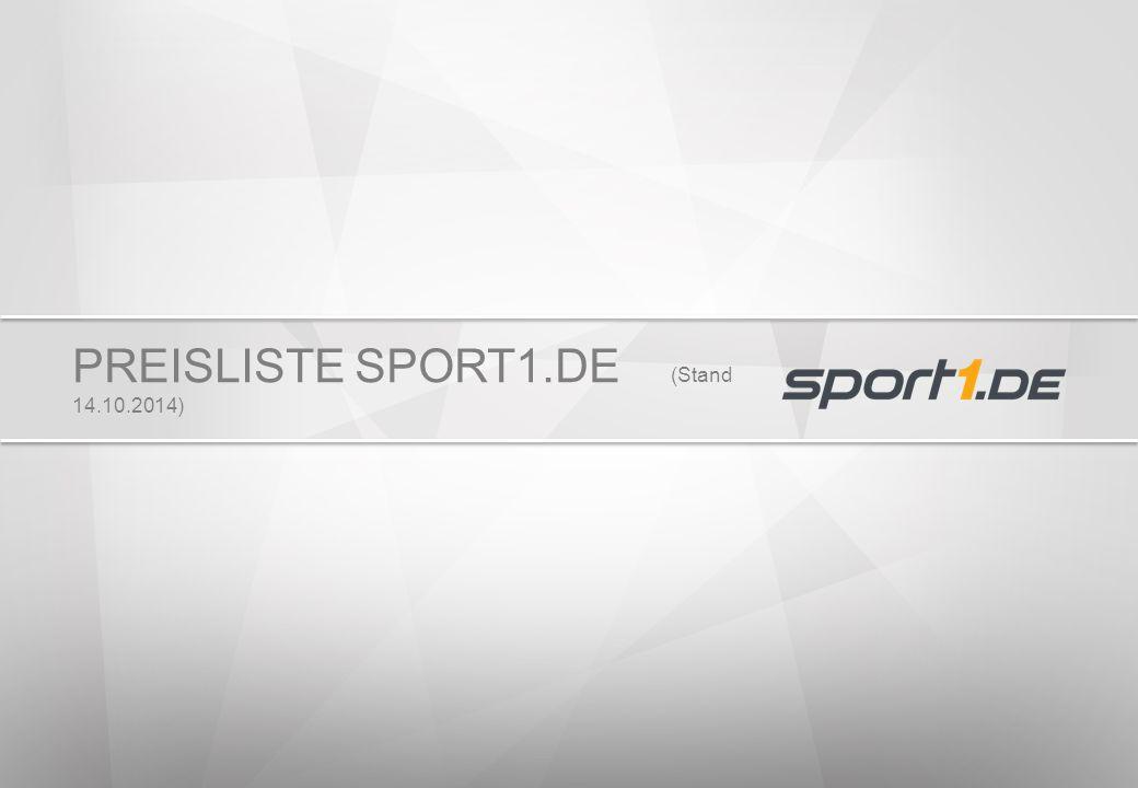 PREISLISTE SPORT1.DE (Stand 14.10.2014)