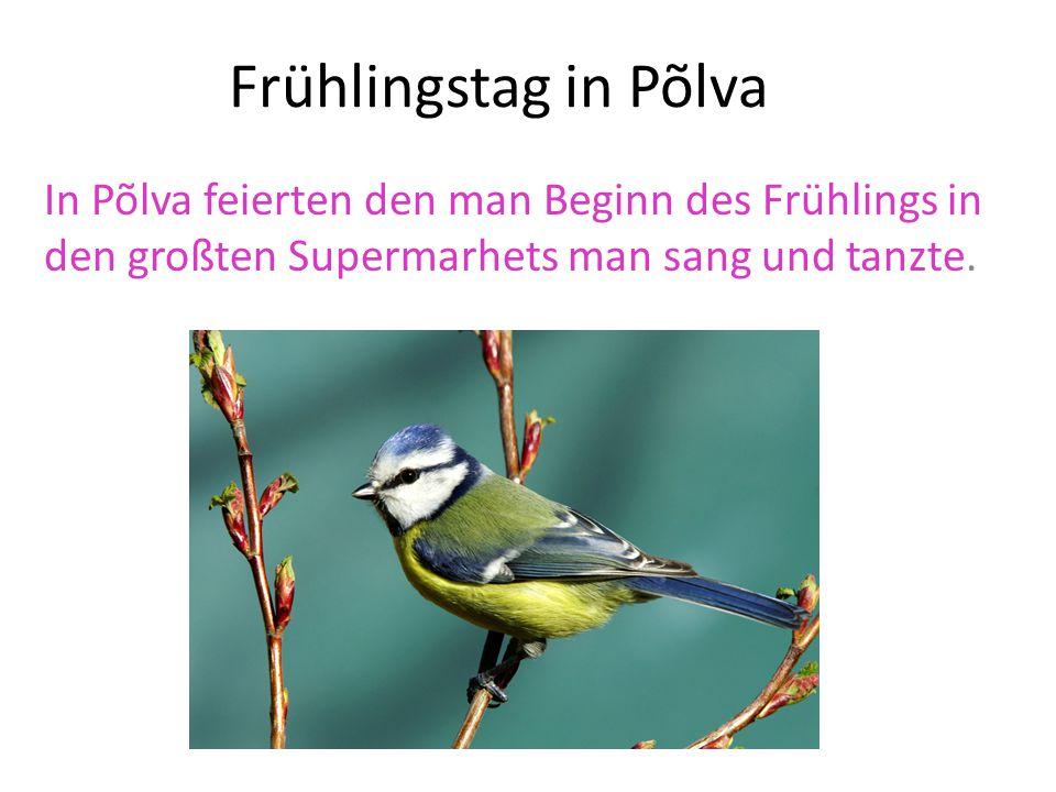 Frühlingstag in Musumäe 19:32 begrüßte den Beginn des astronomischen Frühlings Musumäel mit verschiedenen Chören, und der polizei-und Gvenzchctzorchester.