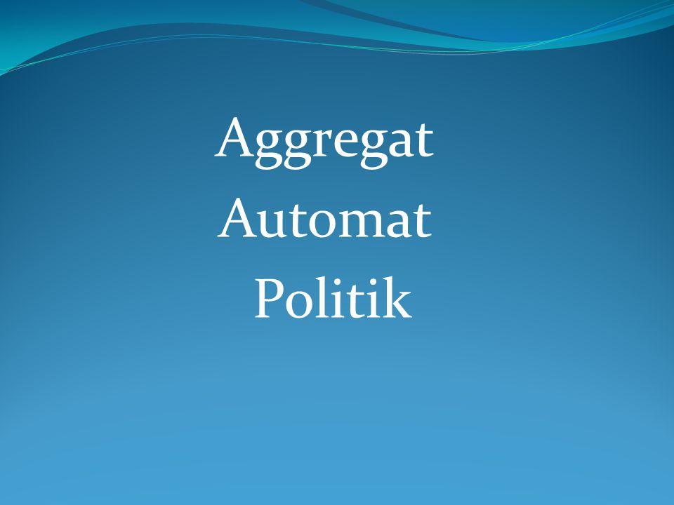 Aggregat Automat Politik