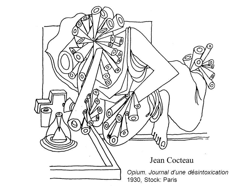 Jean Cocteau Opium. Journal d'une désintoxication 1930, Stock: Paris