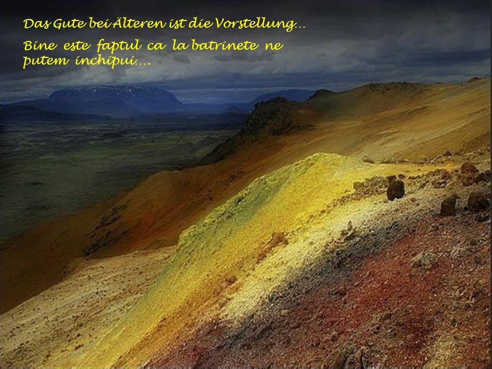 … und wirkt nicht wie eine untergehende Sonne im Herbst....si nu ca lumina apusului de soare toamna.!
