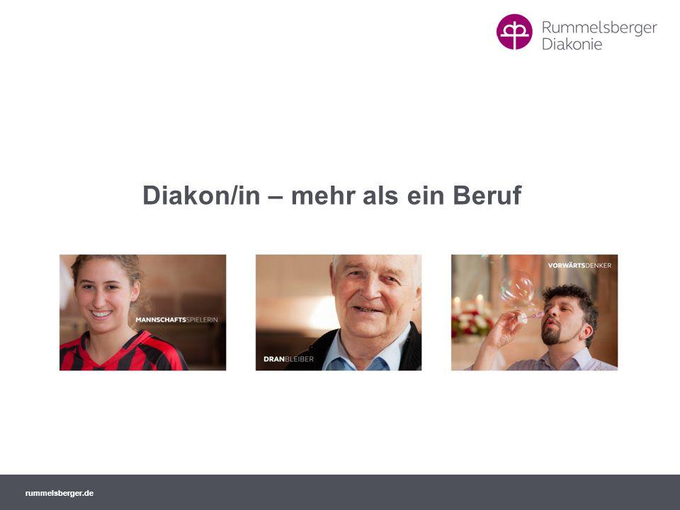 rummelsberger.de 3.2 Diakoninnengemeinschaft (2) Geistliche Dienstgemeinschaft Gemeinschaftliches Du Derzeit ca.