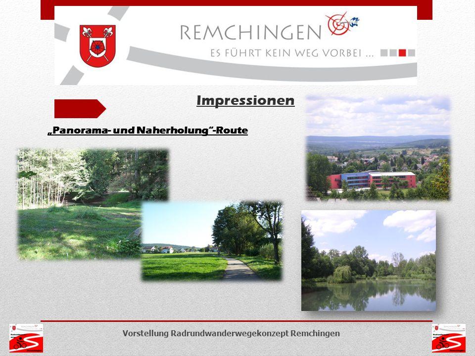 """Vorstellung Radrundwanderwegekonzept Remchingen Impressionen """"Panorama- und Naherholung""""-Route"""