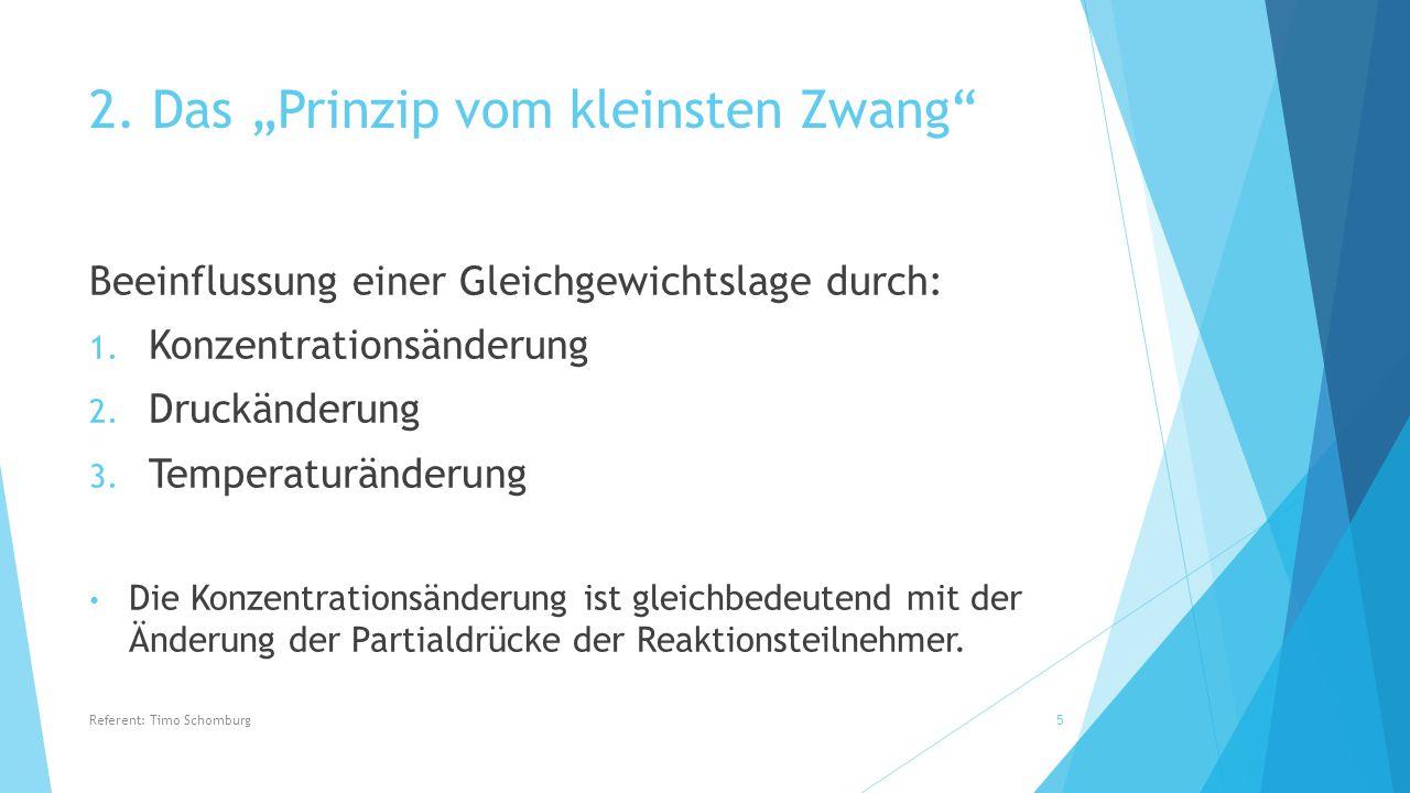 6.Haber-Bosch-Verfahren Durch Druckerhöhung wird die Entstehung der Produkte begünstigt.