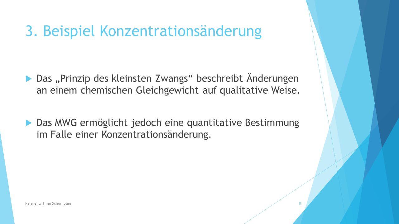 """7.Übungsaufgaben Referent: Timo Schomburg19 Quelle: """"Chemie , Charles E."""
