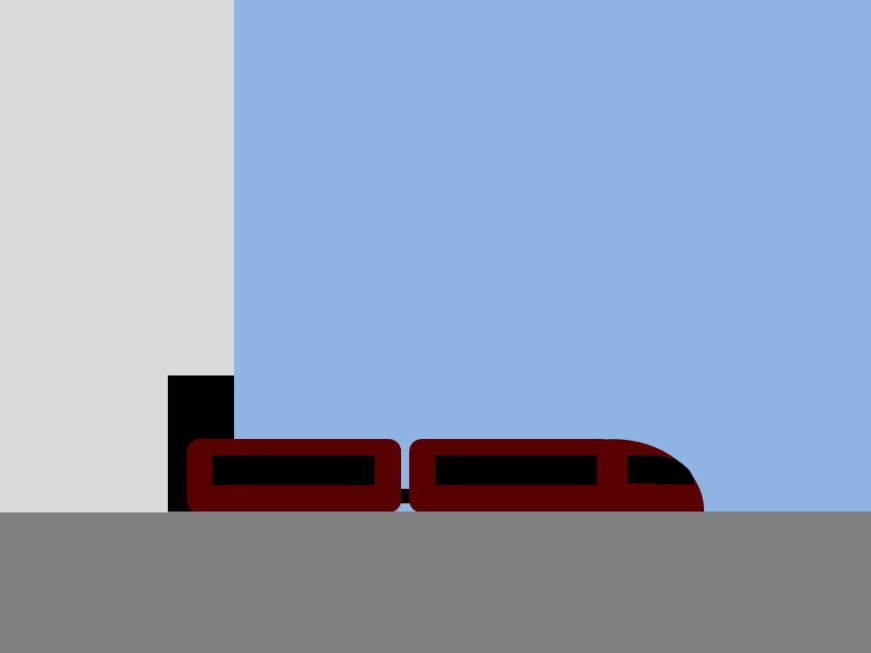 Abheben Mit einem Zug