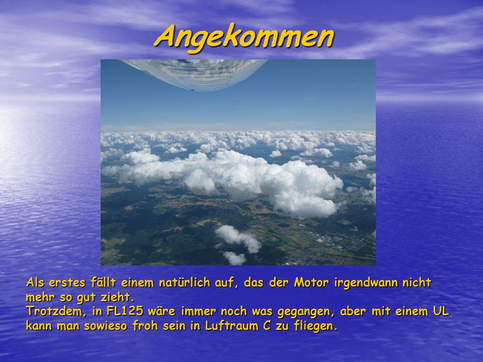 Airwork Das die Motorleistung hier geringer ist war klar.