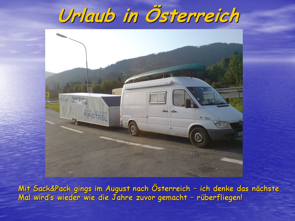 Abstecher zu Pipistrel Grade mal ne halbe Stunde fliegt man von Klagenfurt zu Pipistrel nach Slovenien.