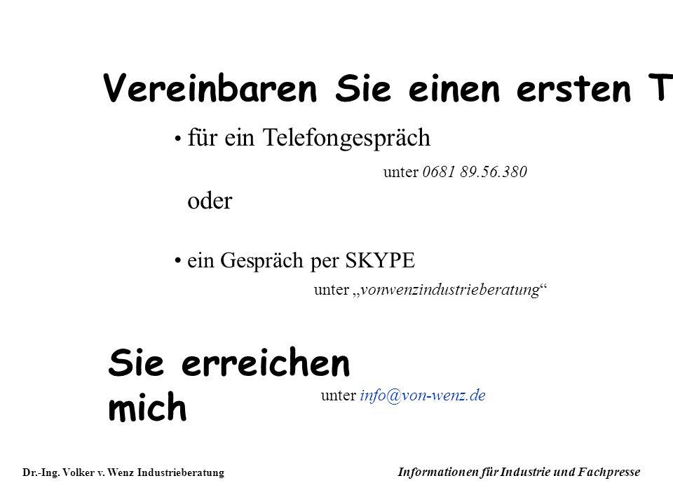 Dr.-Ing.Volker v.
