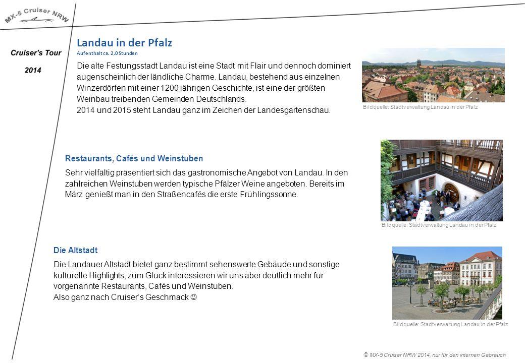 Landau in der Pfalz Aufenthalt ca.