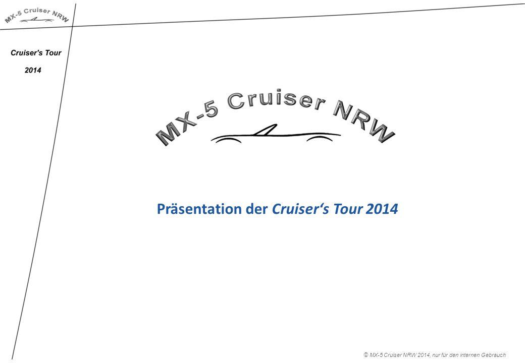 Präsentation der Cruiser's Tour 2014 © MX-5 Cruiser NRW 2014, nur für den internen Gebrauch