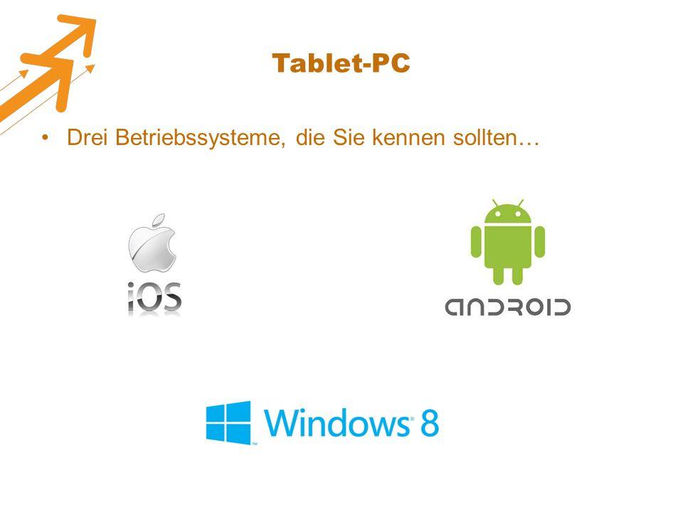Tablet-PC Drei Betriebssysteme, die Sie kennen sollten…